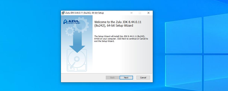 Windows установщик OpenJDK